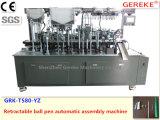 Máquina automática retractable de la asamblea de la pluma de bola
