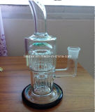 Mini pipe en verre d'eau de narguilé de Shisha pour le tabac