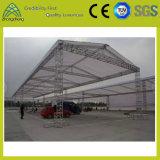 (2+7+2) M*5m*6mのアルミニウム段階の照明ねじ屋根のトラス