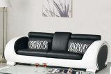 Sofá de couro da sala de visitas 1+2+3 modernos Best-Selling (HC6024)