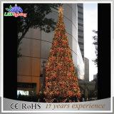 Luz gigante ao ar livre da árvore de Natal do diodo emissor de luz da classe comercial