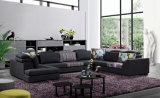部門別のソファーのソレント贅沢な金ファブリックインド人のソファー