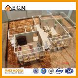 De binnenlandse Modellen van /Scene van Modellen/Model van /Apartment van de Eenheid het Model