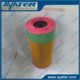 Varias piezas industriales de los compresores de aire para los filtros