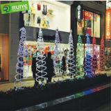 La corda del LED illumina la striscia flessibile per la decorazione del giardino e della casa