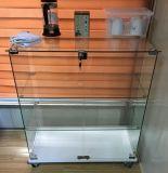 昇進のための熱い販売のゆとりの緩和されたガラスの表示ショーケース