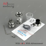 Stock에 있는 확실한 Augvape Merlin Rta Atomizer 23mm Black Silver
