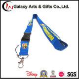 Crear su propia marca de regalo promocional impreso azul de la cuerda de seguridad