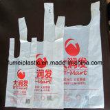 Sacchetti trasparenti personalizzati variopinti della maglia dell'HDPE del LDPE del PE del supermercato