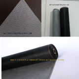 Fibra de vidrio PVC-Revestida de la pantalla del insecto para la puerta/Windows