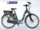 新しい都市サドル様式250Wブラシレスモーター36V電気自転車(JSL036C-1)