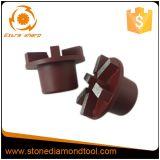 Диаманта скрепления металла восстановления 6 этапов штепсельная вилка конкретного меля