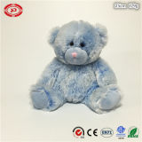 파란 공상 연약한 곰 견면 벨벳 푹신한 테디 형식에 의하여 채워지는 장난감
