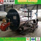 chaudière à eau chaude au fuel de chaudière à vapeur de la capacité 150psi Dissel de l'heure 5ton/