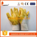 Ddsafetyの2017年のニトリルの上塗を施してある綿の手袋のセリウムの安全手袋