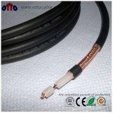 コネクターが付いている高品質50ohmsの同軸ケーブルRg213