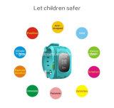 Вахта малышей детей GPS Bluetooth горячего пинка силикона Q50 франтовской