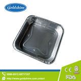 Vaschette a gettare rotonde materiali di alluminio della quiche