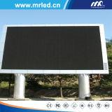 Boa tela de indicador ao ar livre do diodo emissor de luz da cor cheia de qualidade P10mm (MERGULHO 5454)