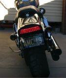 LED Tri-Bar Rear Light per Harly Davision