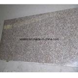 Дешевые каменные желтые плитки гранита для настила и стены