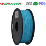 Transparenter 3D Printing Filament 1.75mm Winkel des Leistungshebels Filament