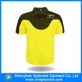 Concevoir de chemise de polo de couleur de la qualité deux de fabricant de la Chine