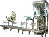Poudre de thé vert remplissant pesant la machine à ensacher