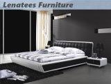 Bâti de maison de cuir de meubles de la chambre à coucher A086