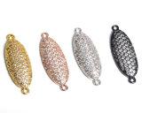 بالجملة مجوهرات نتيجة بحث تكعيبيّ زركونيوم يرصف [ميكرو] نحاس أصفر مباعدة خرزة ثانويّ