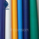 Tela incatramata variopinta a buon mercato impermeabile del PVC per il coperchio Tb104 del tetto o della tenda