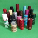 포도주, 정신, 보드카, 주스, 식초, 올리브 기름, 음식 등등을%s 관례 PVC 수축 캡슐