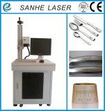 Máquina de gravura da marcação do laser da fibra com o laser da maquinaria para o metal