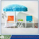 Spiaggia esterna Umbrella-Sy2010 della paglia di grande nuovo stile promozionale antivento