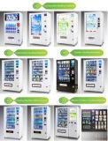 Distributore automatico combinato nero bianco della bevanda dello spuntino del distributore automatico