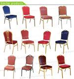 Cadeira Rental usada de aço por atacado do banquete do ouro