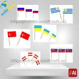 De Vlaggen van de Tandenstoker van het document
