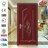 Porte de PVC d'appartement de panneaux de la production en masse 4