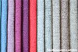 La tela domestica della tessile 100% del poliestere gradice il tessuto del sofà della tappezzeria di Linenette
