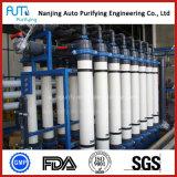 Sistema de tratamiento de aguas del uF de la ultrafiltración