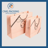 Lacet Textured Printing Petticoat Packing Bag avec Lamination (CMG-MAY-031)