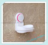 Plateau en plastique d'assiette de support de cadre de savon de cuvette d'aspiration de mur de douche de salle de bains