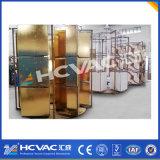 Золотистая машина/вакуум металлизируя машину PVD для пластмассы/стеклянное/керамическое покрытия PVD цвета