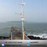 Gerador de turbina aprovado do vento 300W do CE para a monitoração