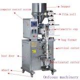 Granulado / fríjoles automáticas / Sal / polvo granulado Forma Vertical Llenar la máquina de embalaje del sello