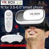 Vidrios virtuales 3D de Vr de la versión de la caja 2.0 de Headmount Vr de la cartulina de Google
