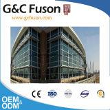 Modèle en verre en aluminium de mur rideau de qualité