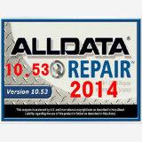 Alldata V10.53 y reparación auto instalada software de Alldata de la velocidad rápida de la computadora portátil Z475 de la reparación auto de Mitchell nueva en 1tb