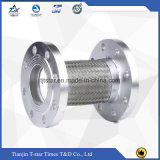 Stainless Steel Wire Braided Metal Hose with Flanges