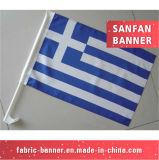 Bandeira feita sob encomenda nacional do fabricante de China do preço de grosso da tela para o carro